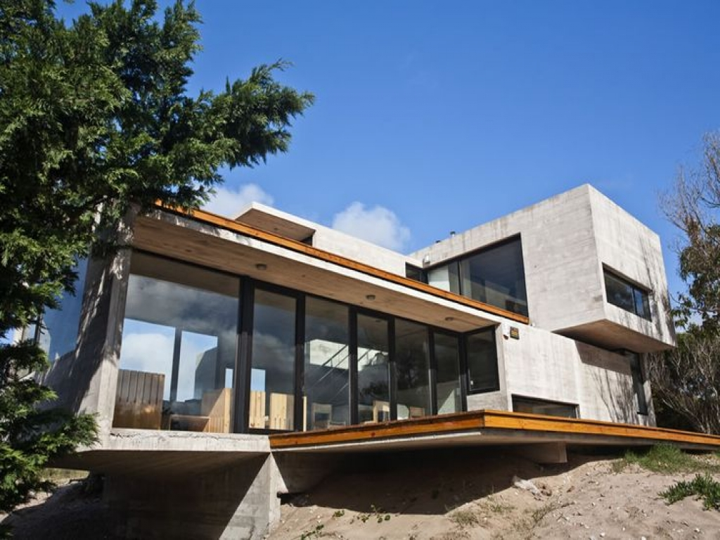 Steel And Concrete Homes Big Glass House Modern Houses Glass Steel And Concrete