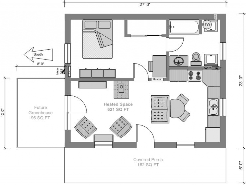 Tiny Home Floorplans Tiny House Blue Prints Small Tiny House Plans Small House