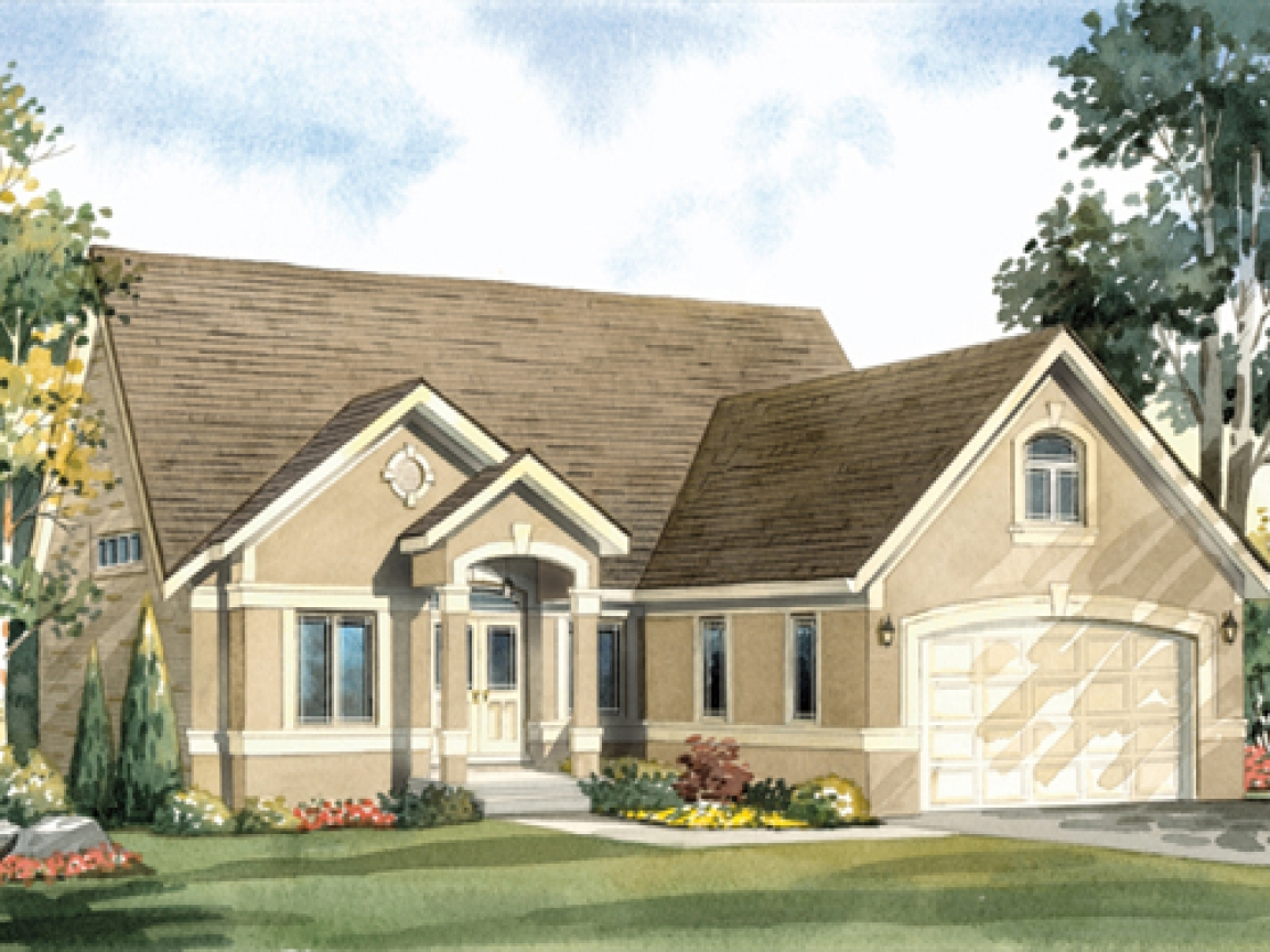 Loft House Plan Bungalow Front Porch With House Plans Bungalow House Plans
