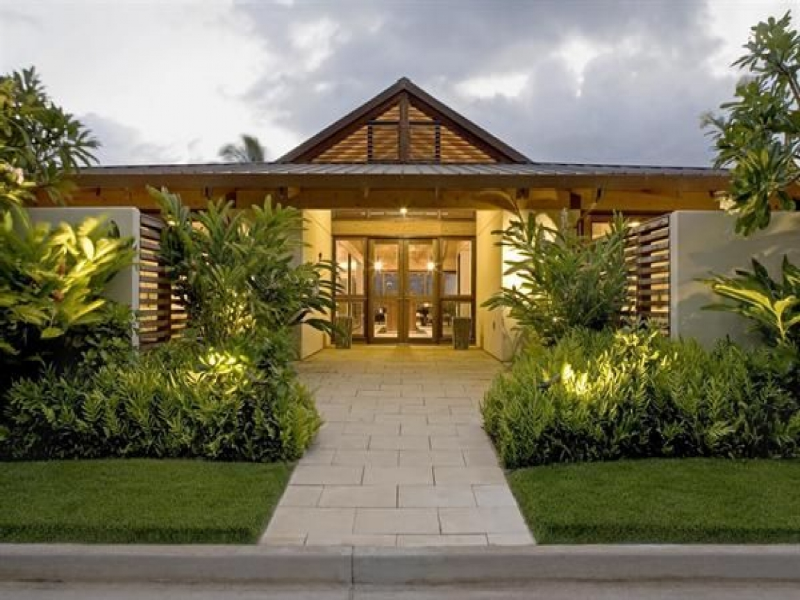 Hawaii House Plans Hawaiian Plantation Style Home Plan Hawaiian Plantation