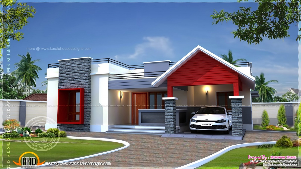 House Design One Floor Modern Single Floor House Designs Modern Single Story