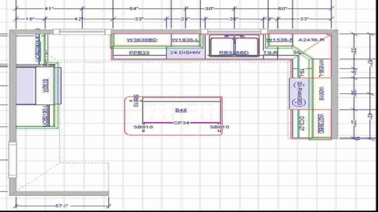 Plans Kitchen Island Large Kitchen With Islands Floor Plans L-shaped Kitchen