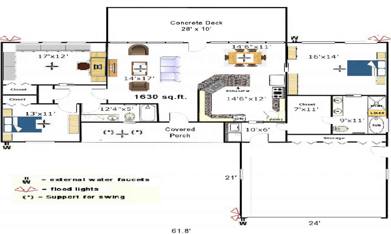 Galley Kitchen Design Plans Galley Kitchen Floor Plans Small Kitchen Floor Plans