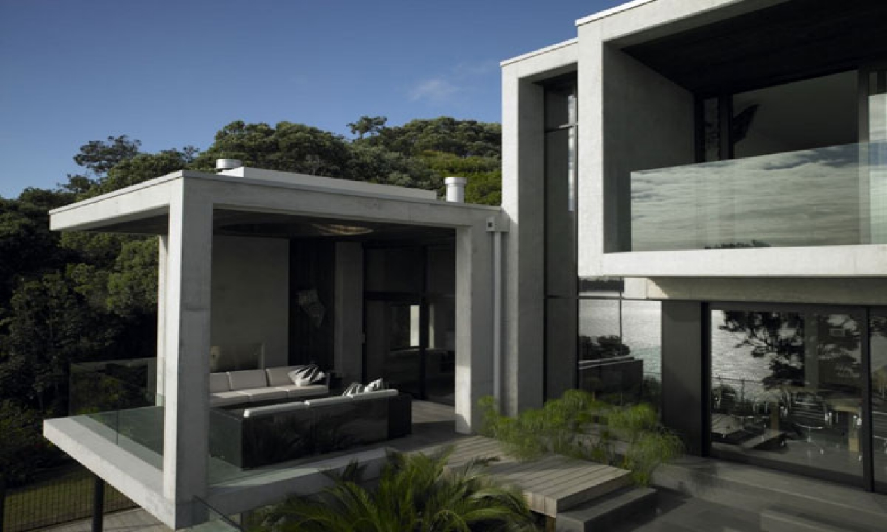 Modern Concrete House Concrete Homes Contemporary Concrete House Design