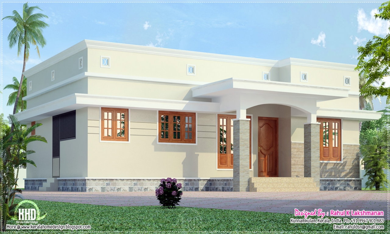 Divider Design For Small House Small House Plans Kerala Home Design Kerala Model House
