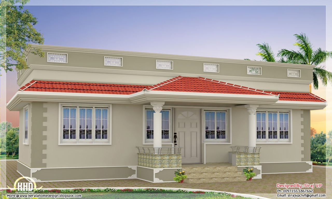 House Design One Floor Kerala Style Single Floor House Plan Kerala Home Design