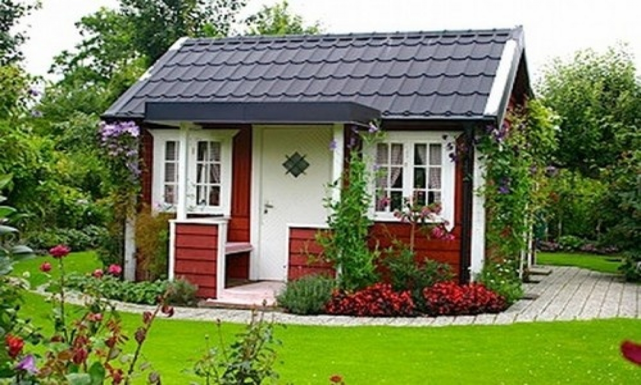 Zweedse Huisjes Little Red Swedish Cottage Garden Swedish Paint Colors