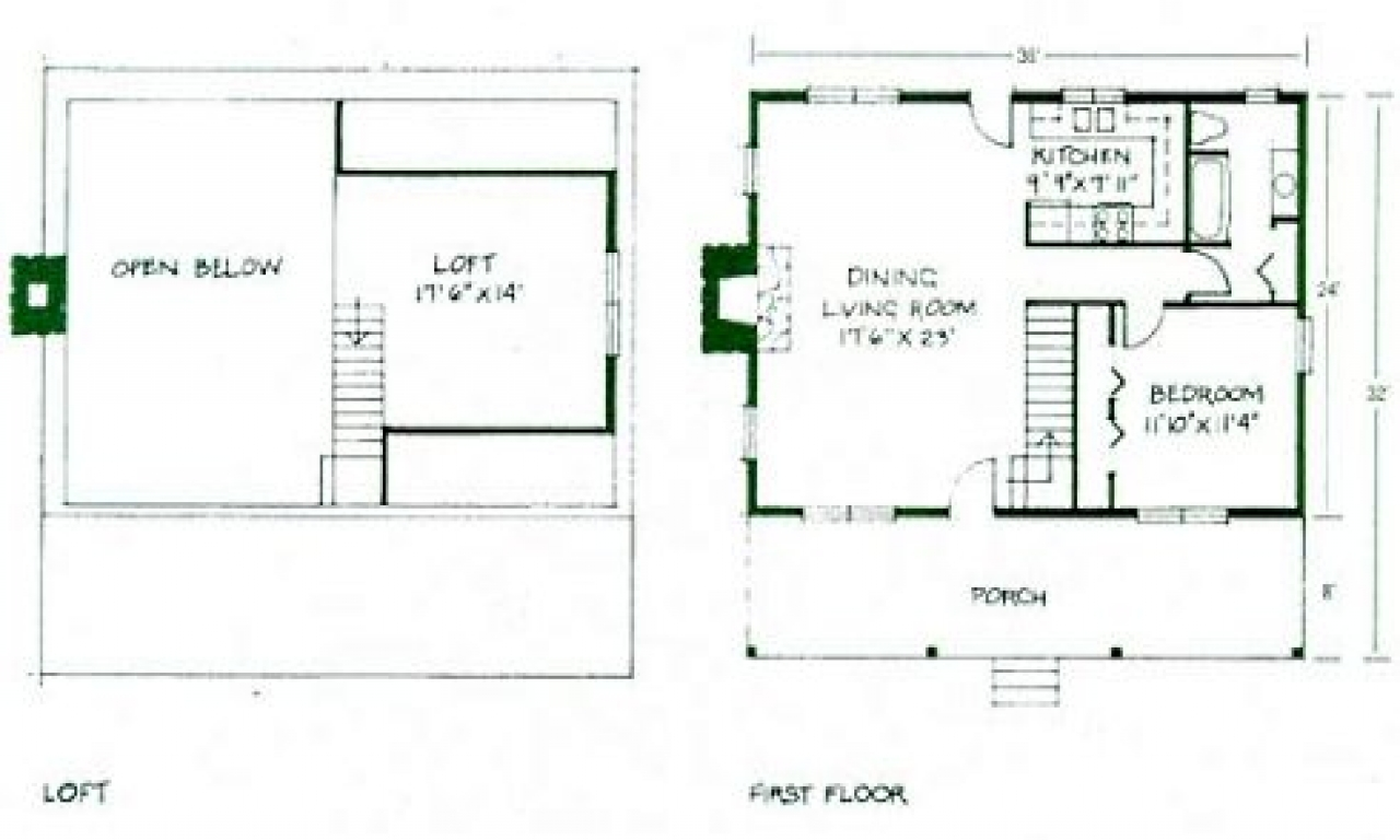 Tiny Home Floorplans Simple Small House Floor Plans Small Cabin Floor Plans