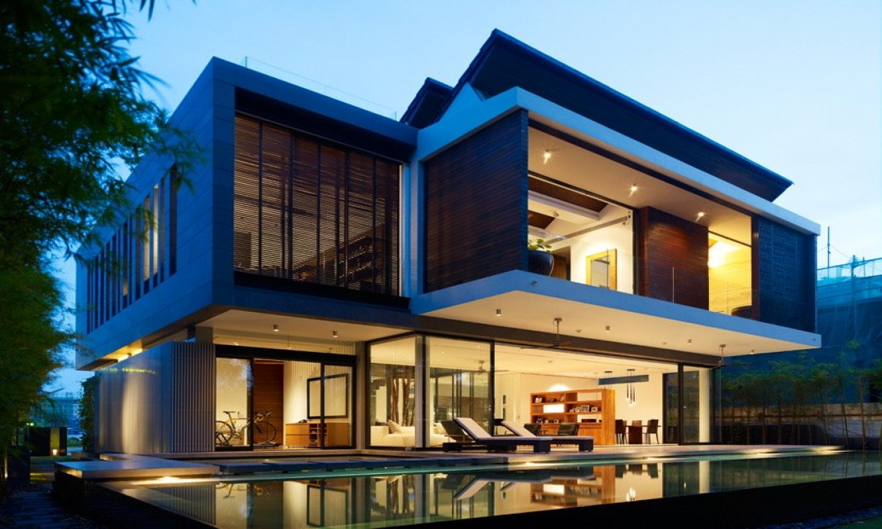 Architecture Design House Plans Modern Japanese House Singapore Modern House Design West