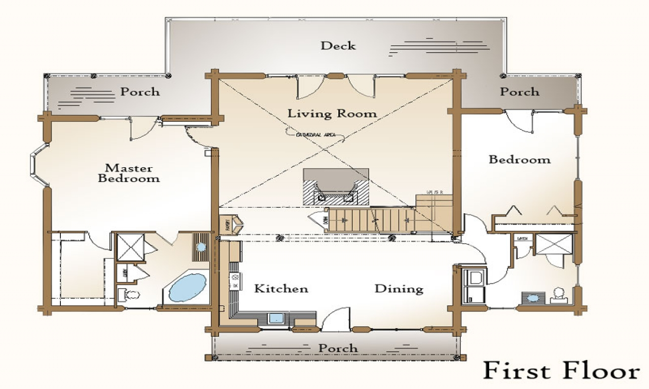 Walkout Basement Ideas Log Home Plans With Basement Log Home Plans With Open