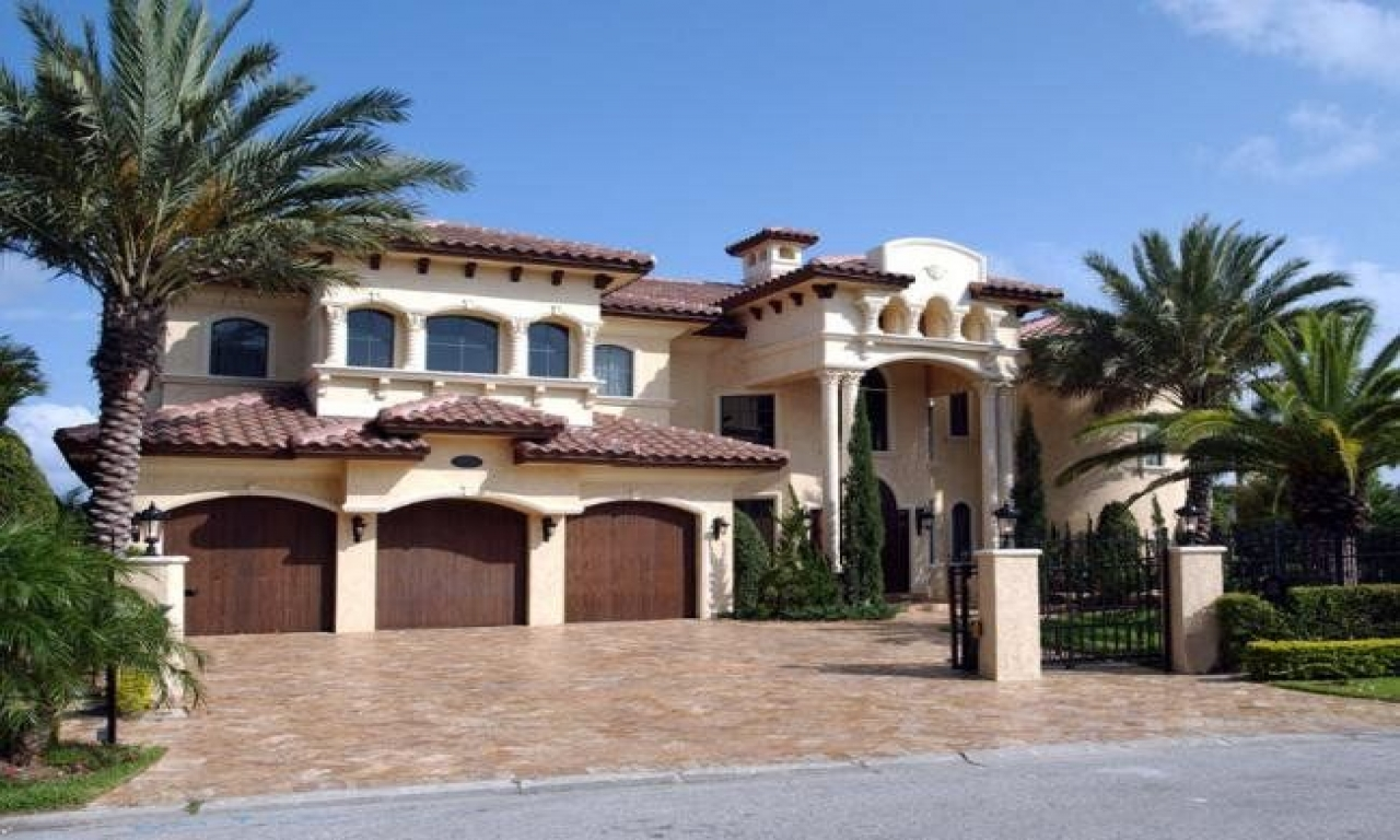 Spanish House Style Spanish Hacienda Style Homes Spanish Mediterranean House