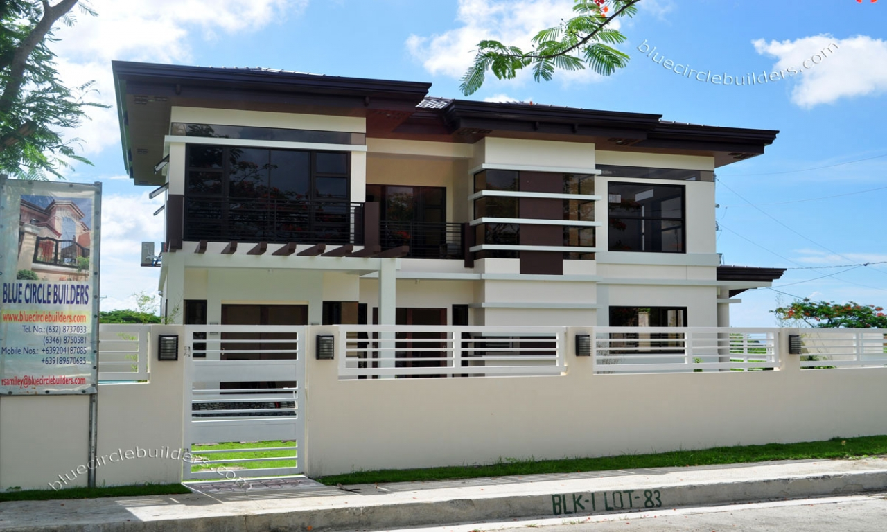 Modern Double Storey Houses Modern Two Storey House Designs Modern Two Storey Villas