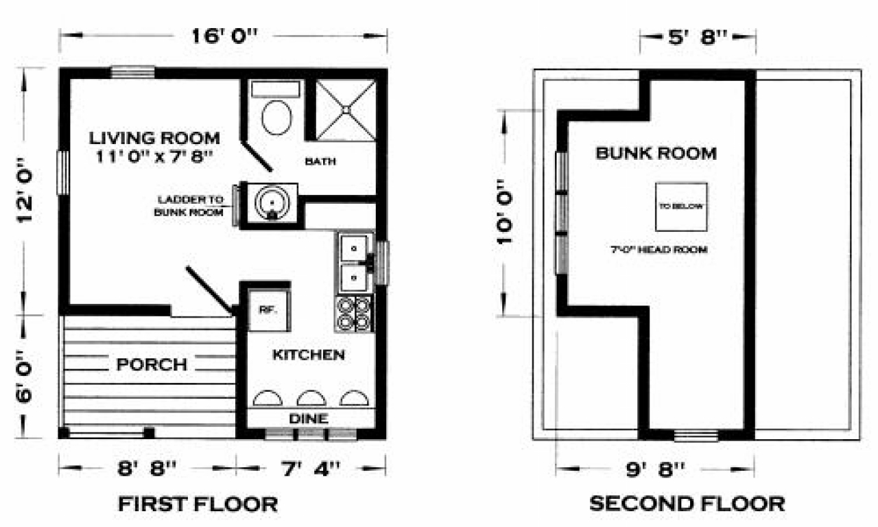 Tiny Home Floorplans Tiny Cabin House Floor Plans Cabins Tiny House Floor Plans