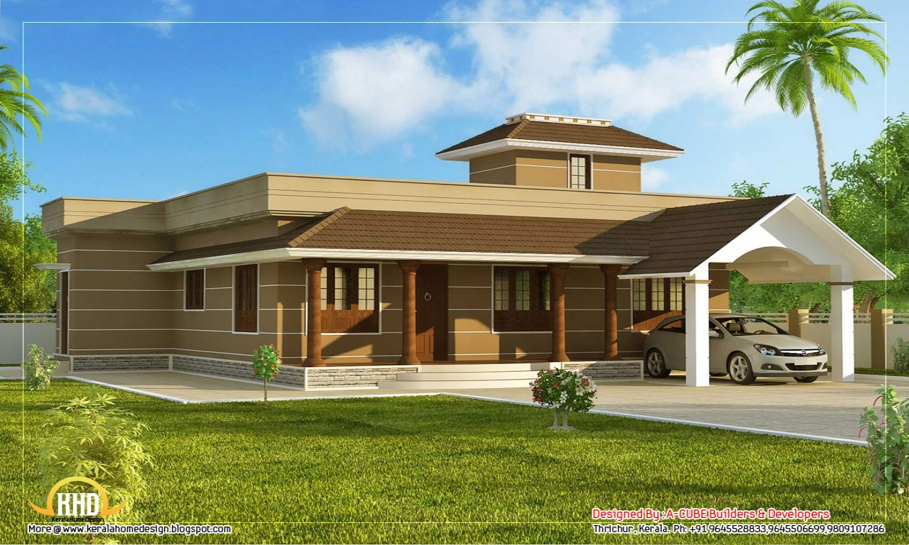House Design One Floor Small Single Floor House Single Floor House Front Design
