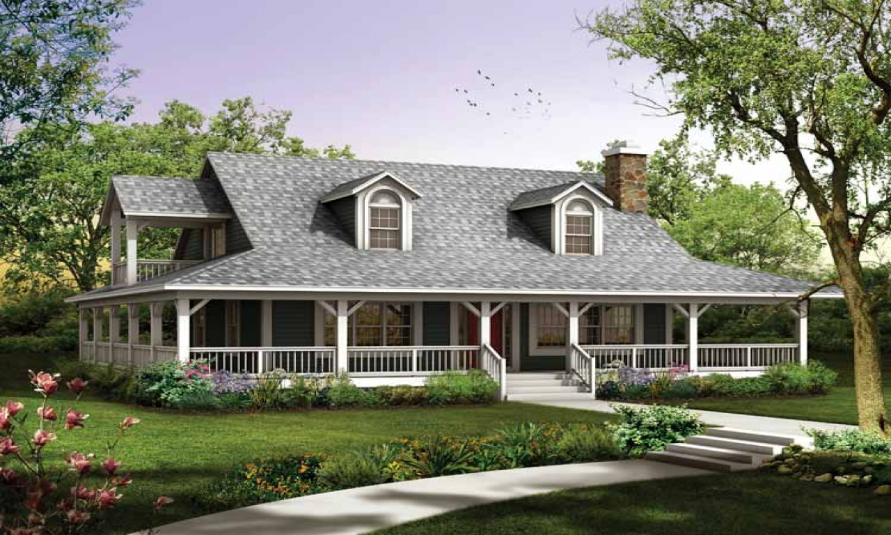 Eric Moser Farmhouse Plans Ranch House Plans With Wrap Around Porch Ranch House Plans