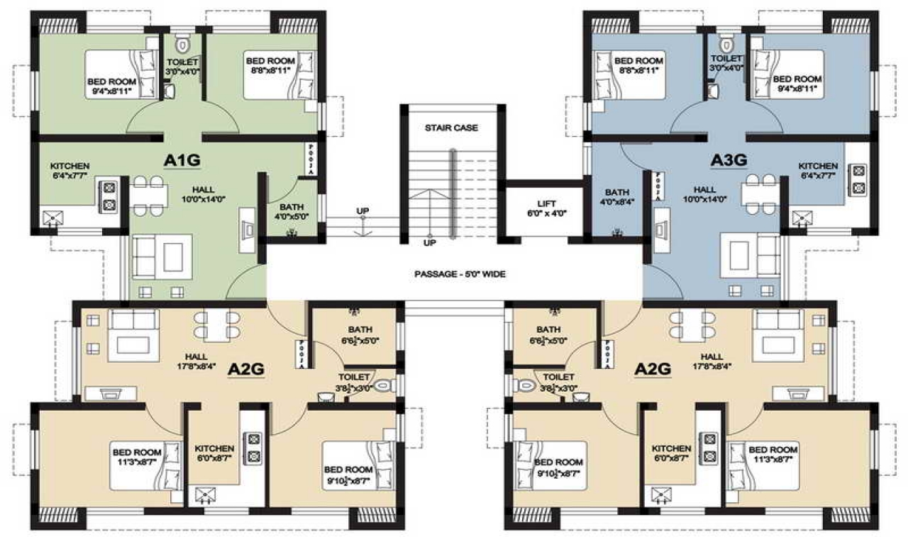 2 Bedroom Design Small House Small House Floor Plans With Stair Small Two Bedroom House