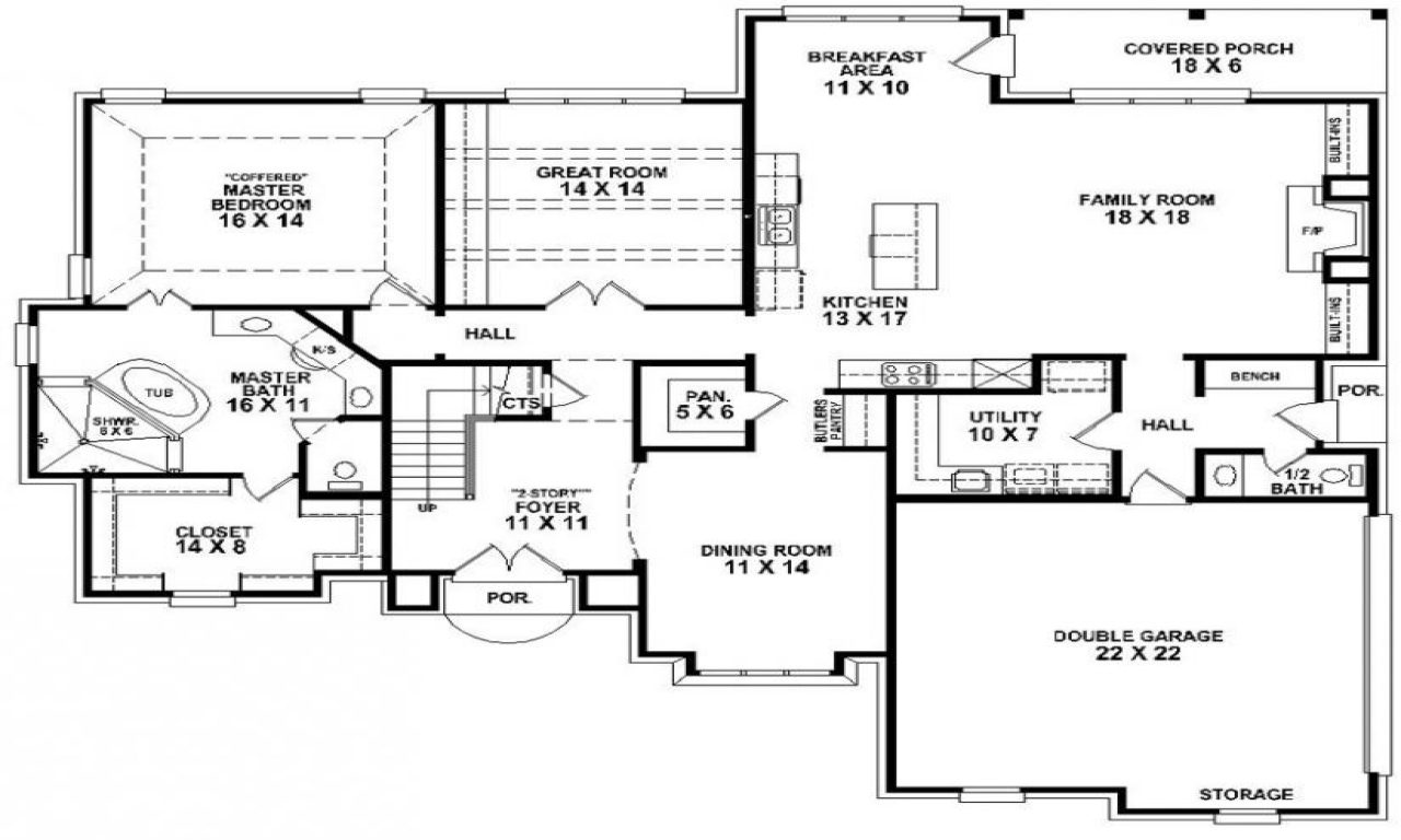 1 Bedroom 2 Bathroom House Plans 4 Bedroom 3 Bath Mobile Home Floor Plans 4 Bedroom 3 Bath