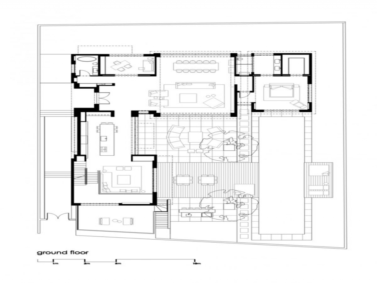 Modern Family Home Plans Modern Family House Floor Plan Modern Grey Tile Floor
