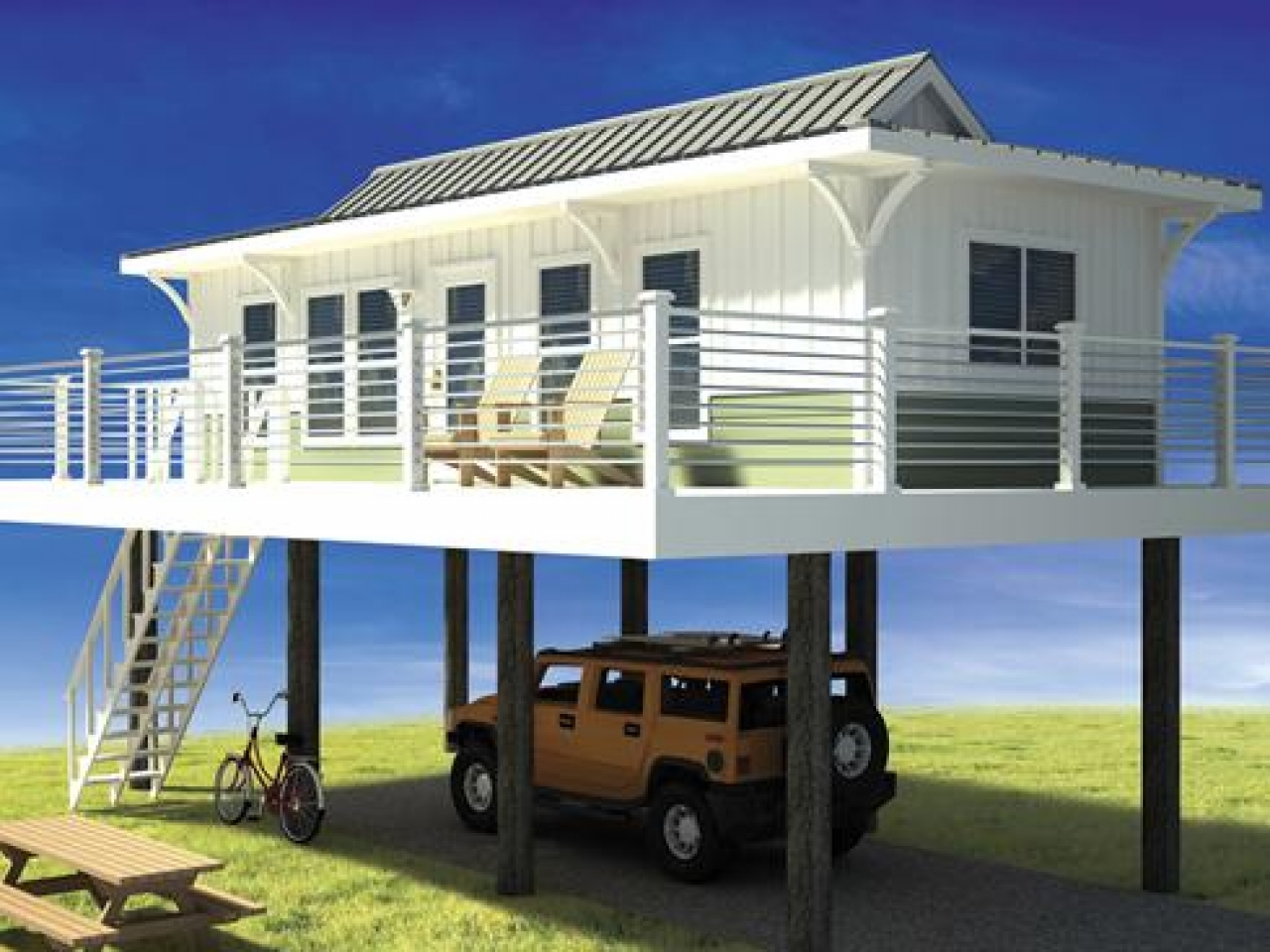 Hawaii House Plans Tiny Beach House On Stilts Tiny Houses In Hawaii House