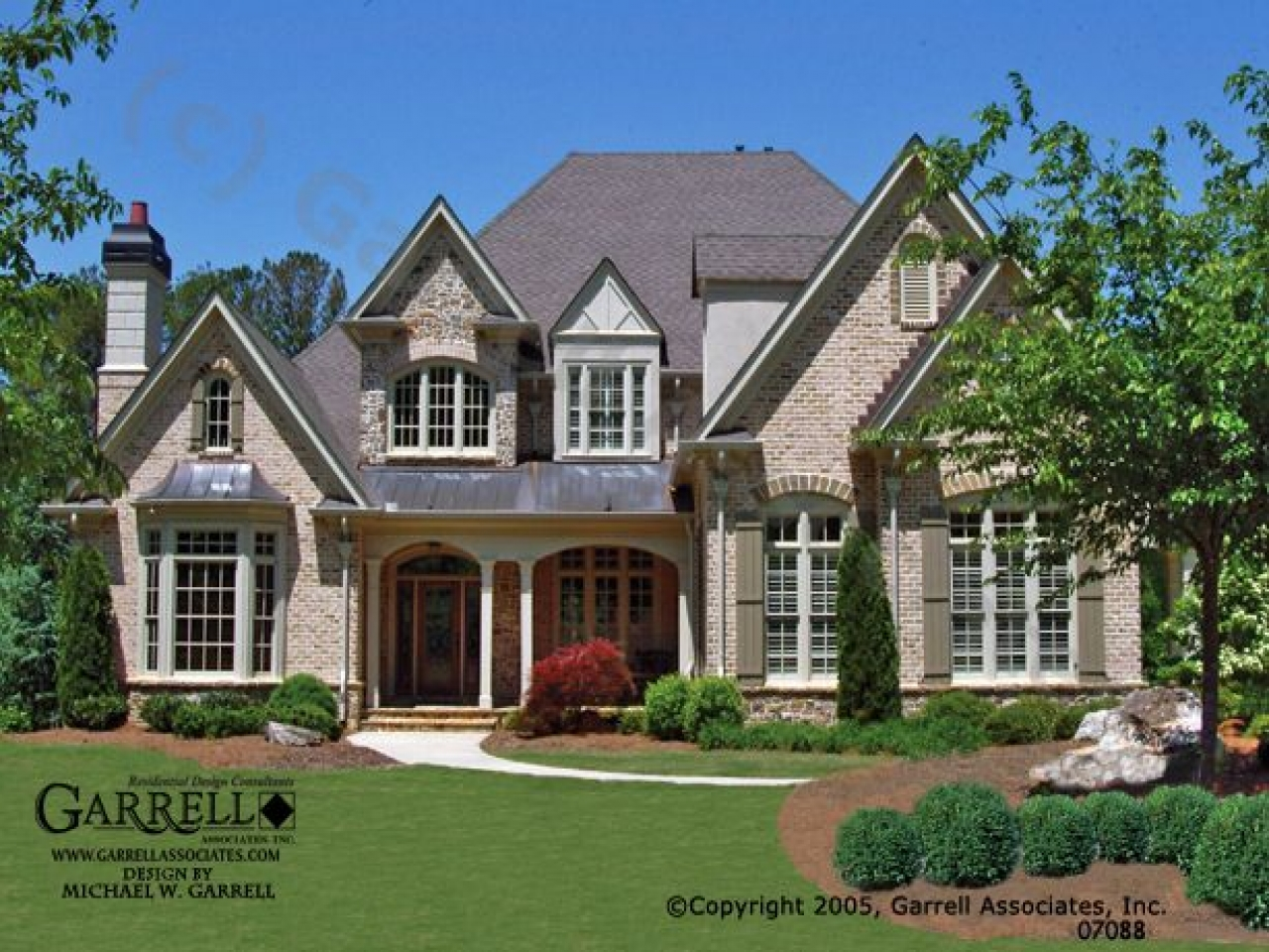 French Country Home French Country House Plans With Front Porches Country