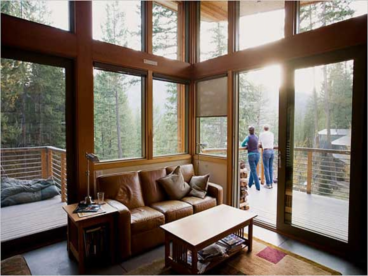 Modern Cabin Decor Modern Cabin Interior Living Room Modern Cabin Interior