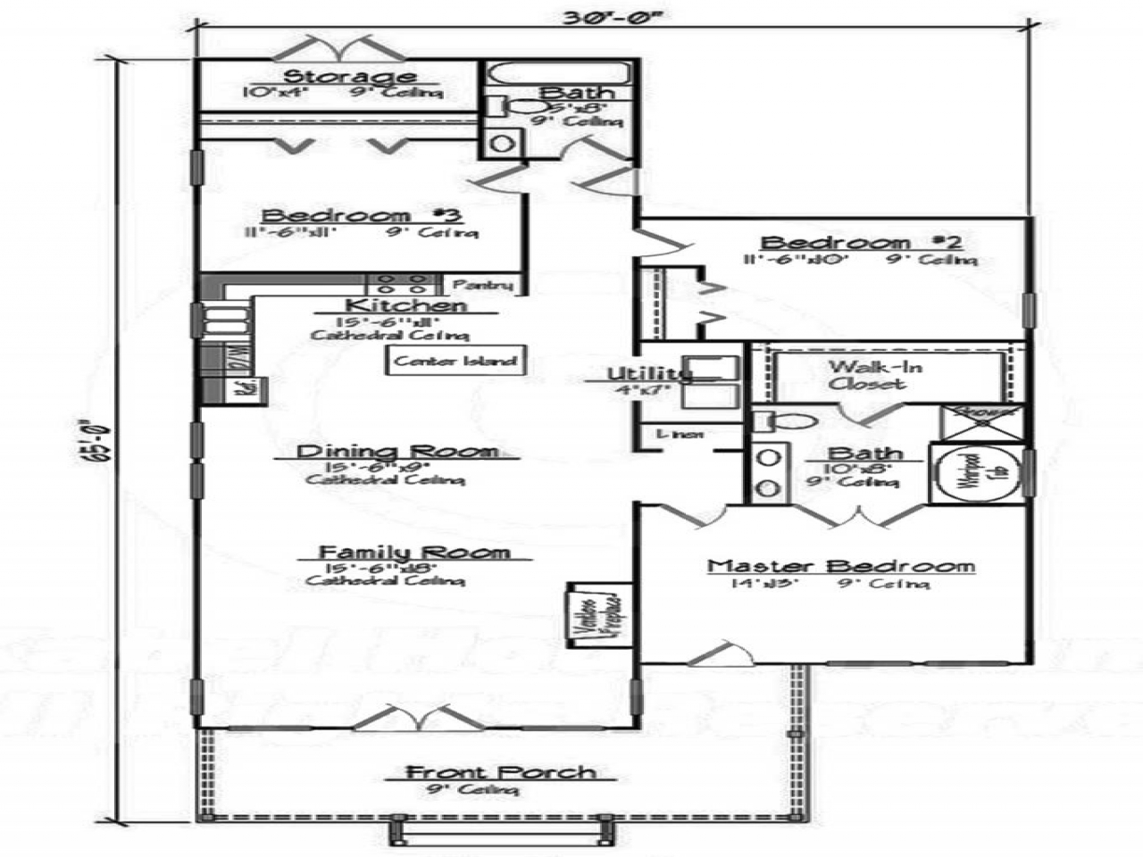 Small 3 Bedroom House Small 3 Bedroom House Floor Plans 2 Bedroom House Layouts