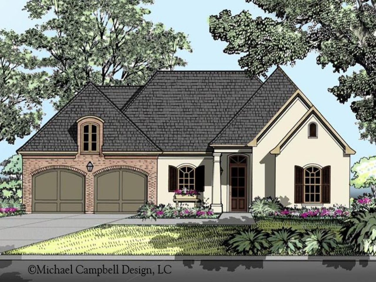 French Country Home French Country House Plans Country Cottage House Plans