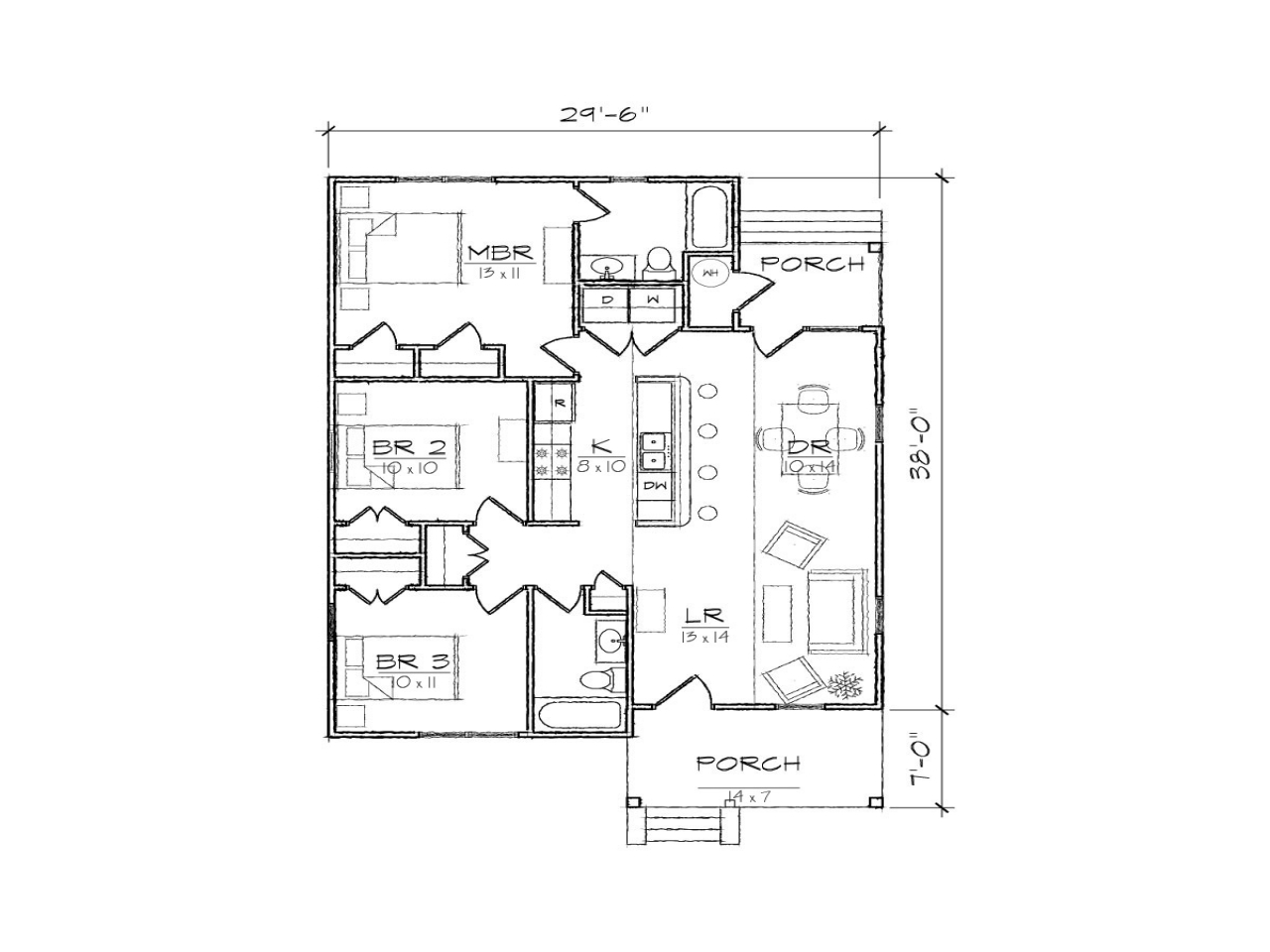 Modern Homes Floorplans Small Bungalow House Floor Plans Modern Bungalow House