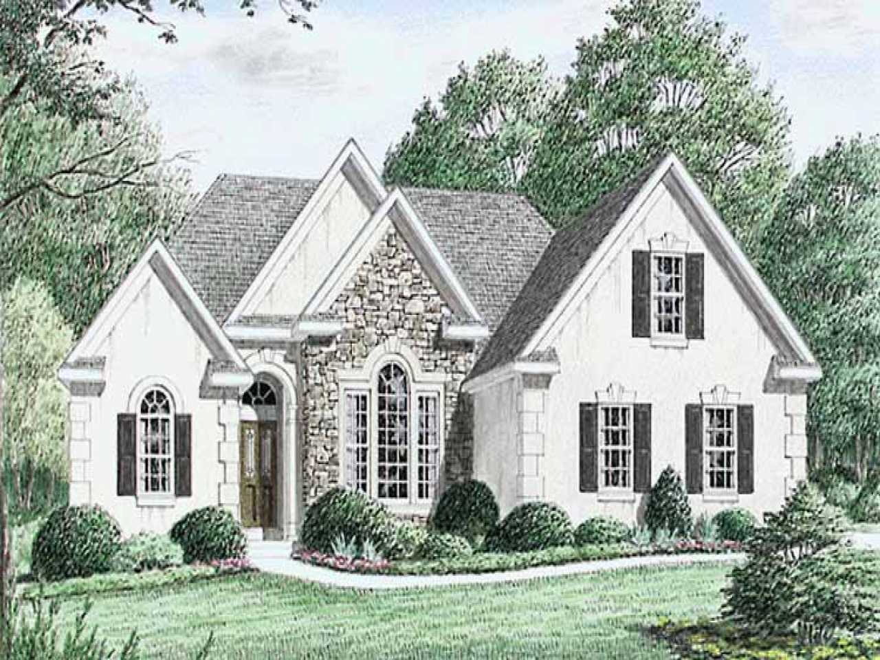 Englische Cottages English Cottage Style House Plans English Country Cottage