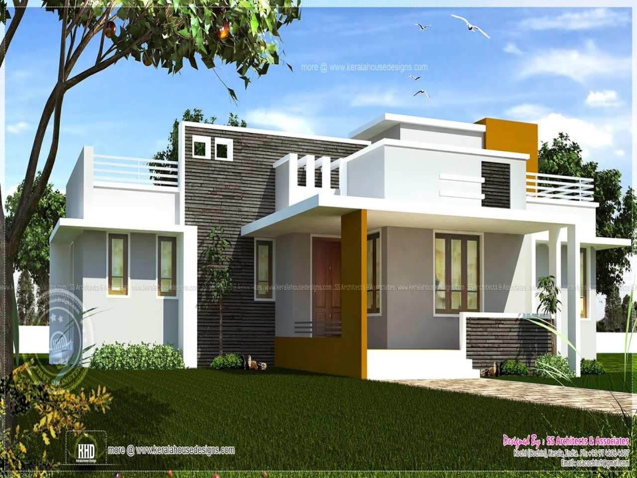 House Design One Floor Single Floor House Plans With Open Design Contemporary