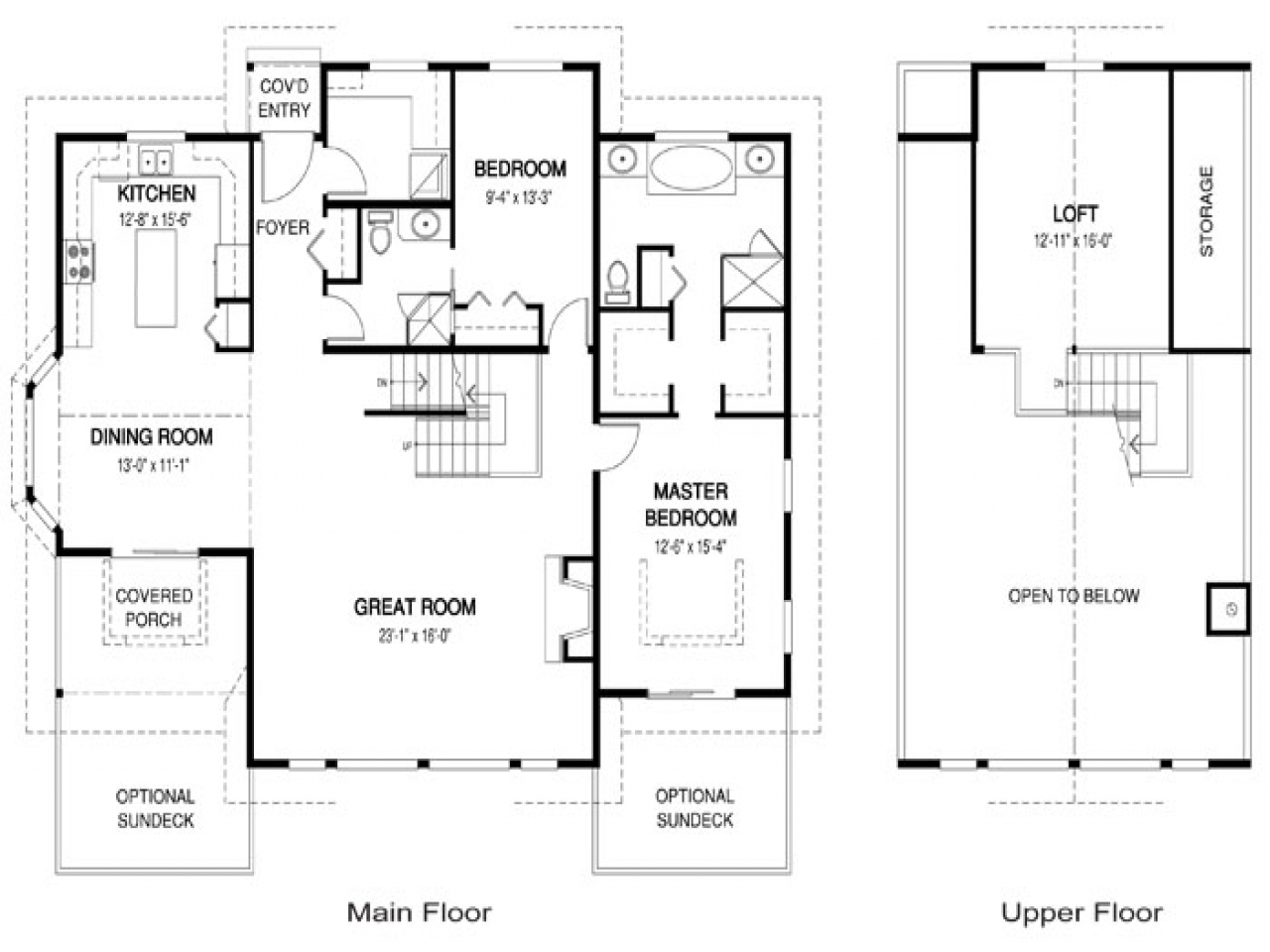 2 Bedroom Open Concept Floor Plans Open Concept Kitchen And Family Room Open Concept House