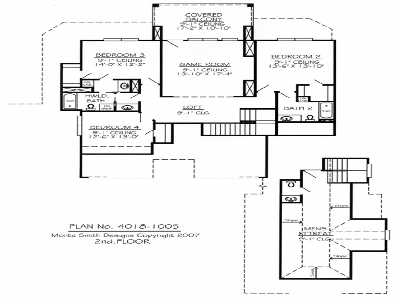 Loft House Plan 2 Bedroom Ranch House Plans 2 Bedroom House Plans With