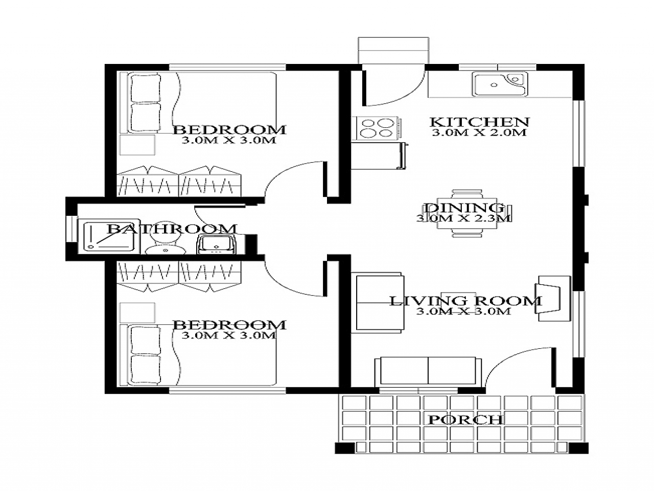 Very Small Home Plans Small House Floor Plans And Designs Very Small House Plans