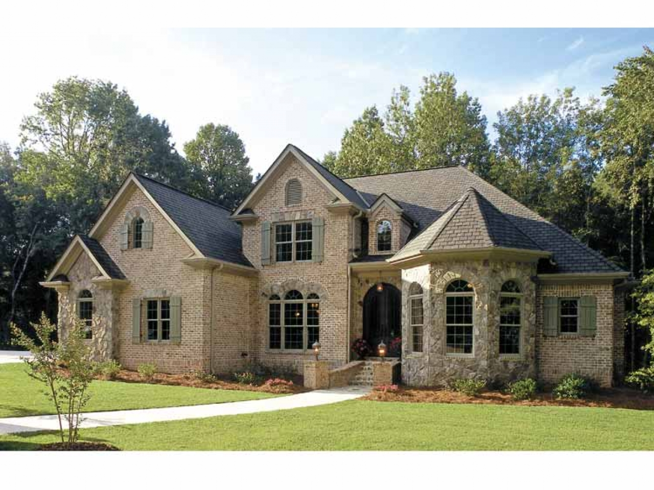 French Country Home French Country Garden French Country Homes House Plans