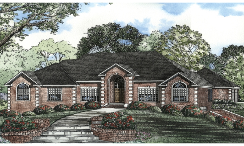 Brick Craftsman House Luxury Ranch Style House Brick Ranch Style House Plans