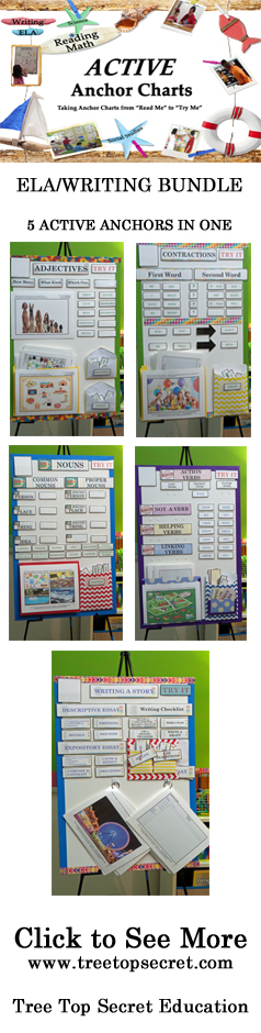 Anchor Charts that are ACTIVE - TreeTopSecret Education