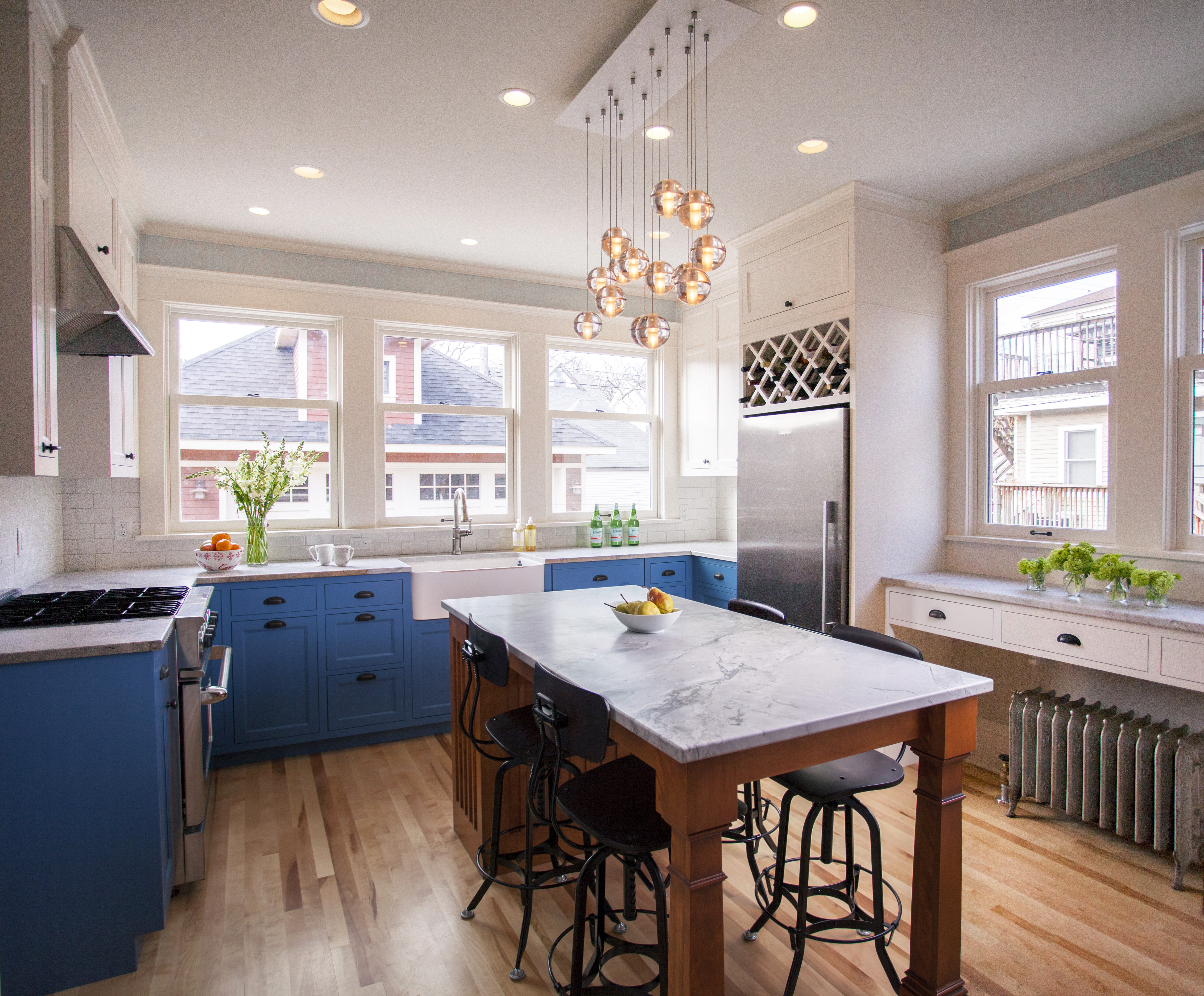 1900 Farmhouse Remodel Early 1900 S Kenwood Kitchen Remodel Trehus Architects