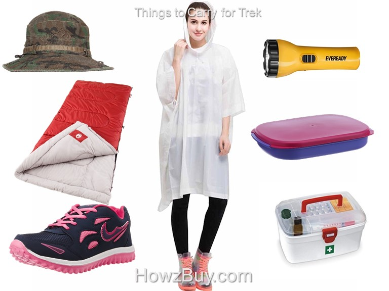 things to carry for trek in india