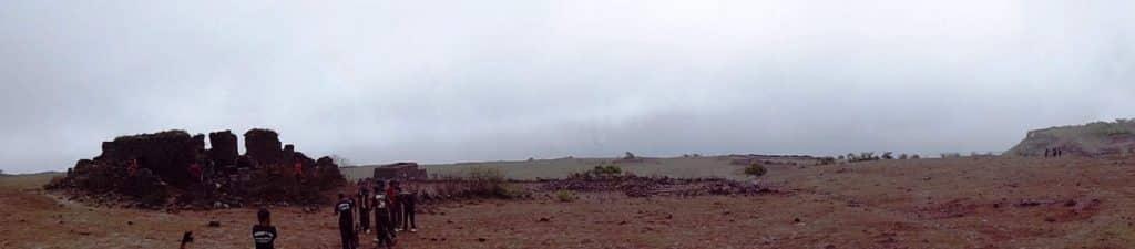 Fort Visapur - on the plateau