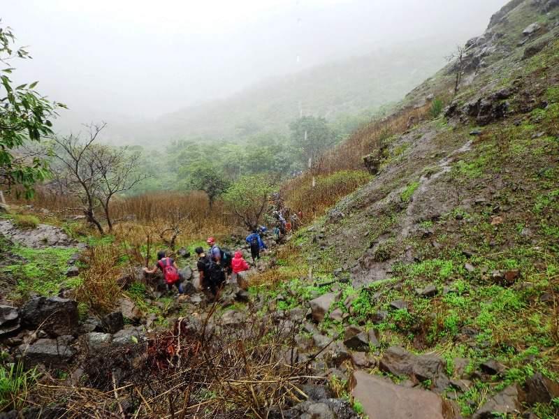 fort Visapur - way down