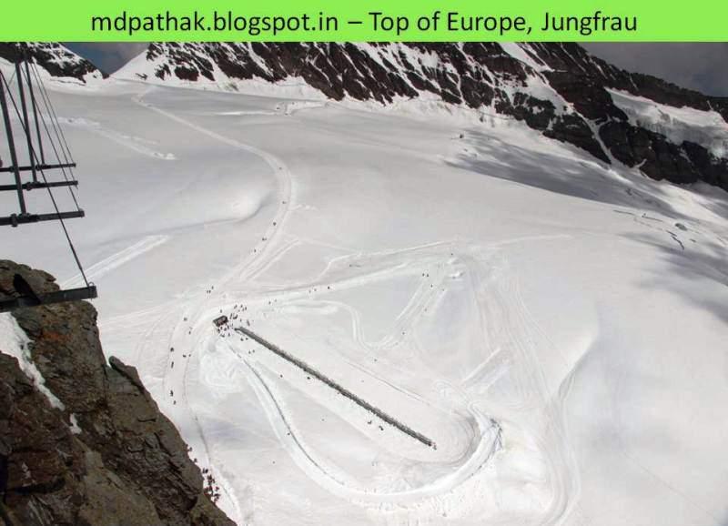 Sphinx Terrace top of europe