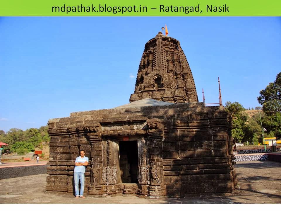 Amruteshwar temple ratangad rear side entrance
