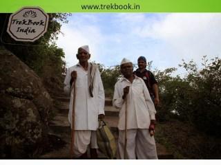 75 years young man at jarandeshwar