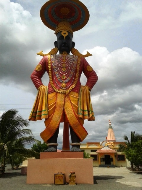 3d Wallpaper In Bangalore Tallest Vitthal Murti At Pandharpur New Attraction