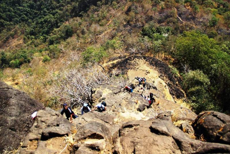 climbing gorakhgad