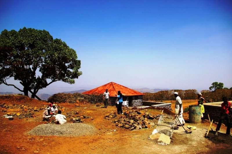 restoration work by govrnment on torna