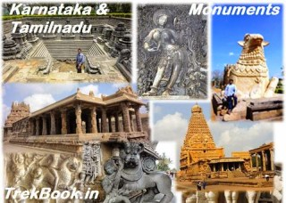 Monument Visit Karnataka and Tamilnadu India