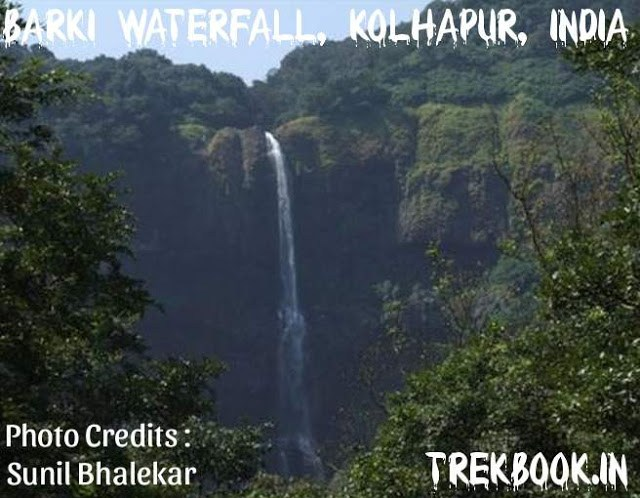Barki Waterfall, Kolhapur, India