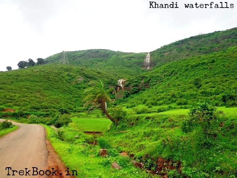 lush green roads heading towards waterfalls near pune