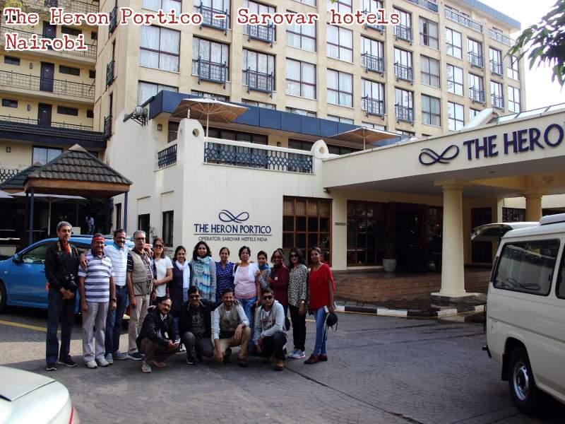 FONA team at the heron portico - nairobi
